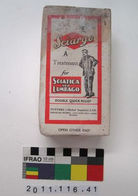 Herbal Medicine: Sciargo