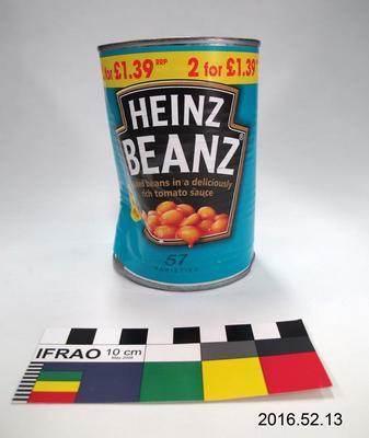 Tin: Baked Beans; Pre 2012; ; 2016.52.13