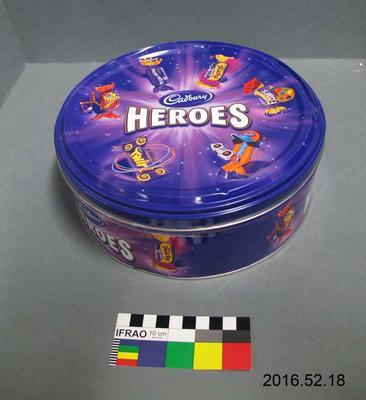 Tin: Heroes Chocolates