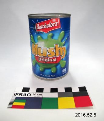 Tin: Mushy Peas; Pre 2013; ; 2016.52.8