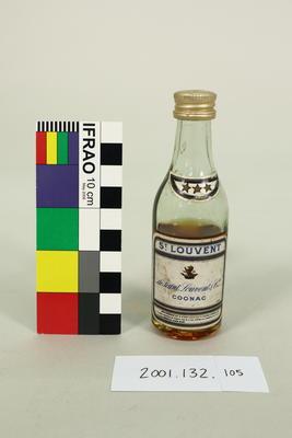 Bottle: St. Louvent Cognac