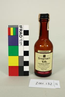 Bottle: Canadian Seagram's V.O Canadian Whisky