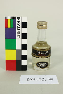 Bottle: Marie Brizard, Cacao Blank Liqueur