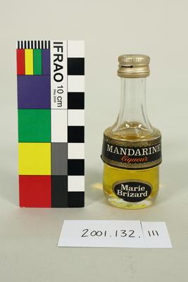 Bottle: Marie Brizard, Mandarine Liqueur