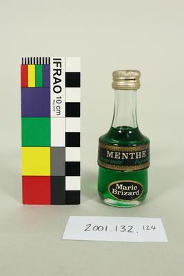 Bottle: Marie Brizard, Menthe, Peppermint Liqueur