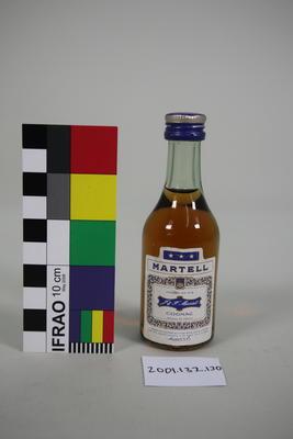 Bottle: Martell Cognac