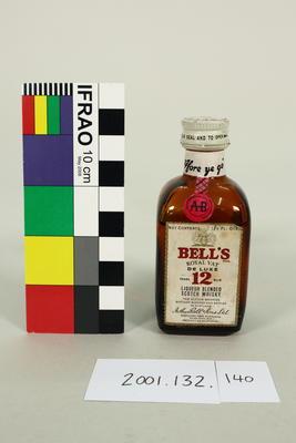 Bottle: Bell's Scotch Whisky