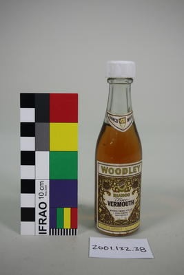 Bottle: Woodley Bianco Vermouth