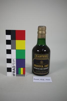 Bottle: Harveys Bristol Dry Medium Dry Sherry