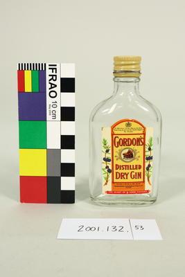 Bottle: Gordon's Distilled Dry Gin