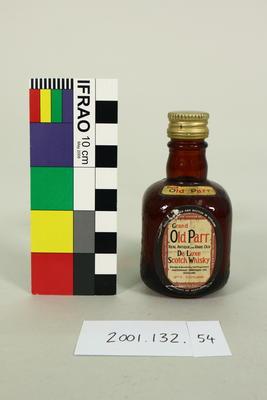 Bottle: Grand Old Parr Whisky