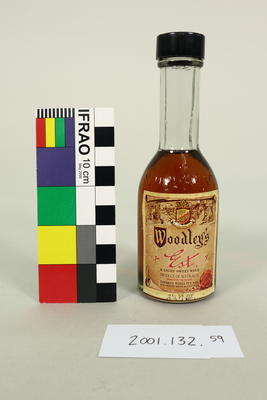 Bottle: Woodley's Estate Light Sweet Wine