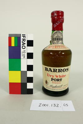 Bottle: Barros Dry White Port Branco