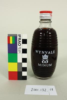 Bottle: Wynvale Minum Claret
