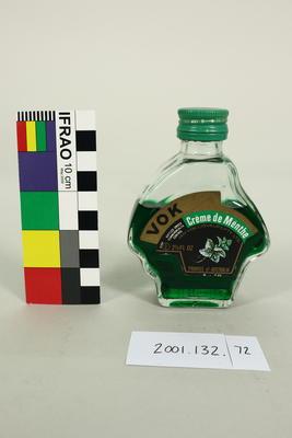 Bottle: Vok Creme de Menthe