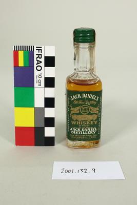 Bottle: Jack Daniels Old Time Whisky