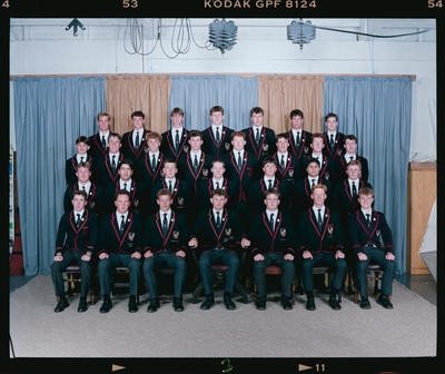 Negative: St Bede's Prefects 1992
