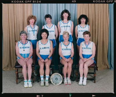 Negative: St Martins Harriers Women's Team 1992
