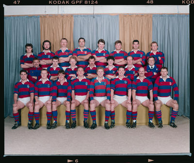 Negative: Sydenham Second Grade Rugby 1992