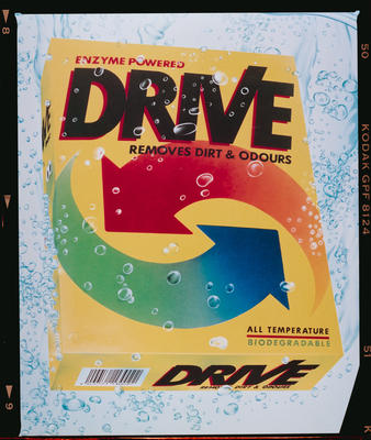 Negative: Drive Laundry Powder