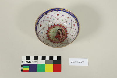 Painted Mumtaz bowl
