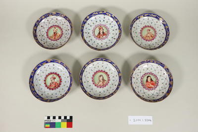 Painted dishes