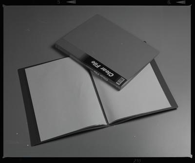 Negative: Clear File Folders