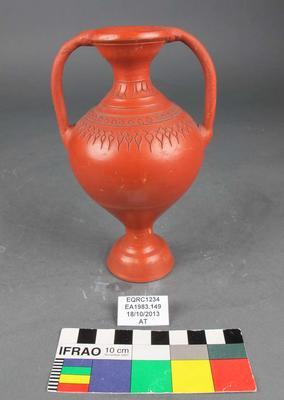 Vase: Earthenware