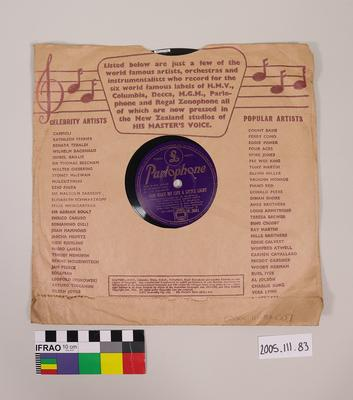 Record: and Sleeve