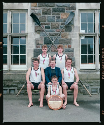 Negative: Christ's College Rowing 1992
