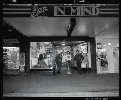 Negative: Beer In Mind Shop Exterior