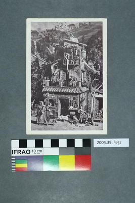 Postcard of a farmhouse