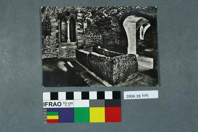 Postcard of Giulietta's tomb