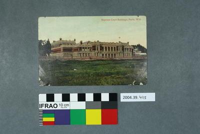 Postcard: Supreme Court Buildings