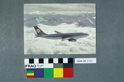 Postcard of an aeroplane