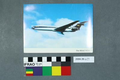 Postcard: The BOAC VC10