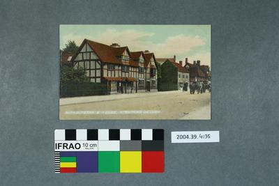 Postcard: Shakespeare's House