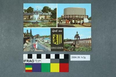 Postcard: Gruβ aus Dresden