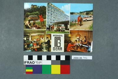 Postcard: Interhotel Gera