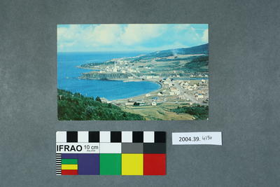 Postcard of the view of Grande Vallee