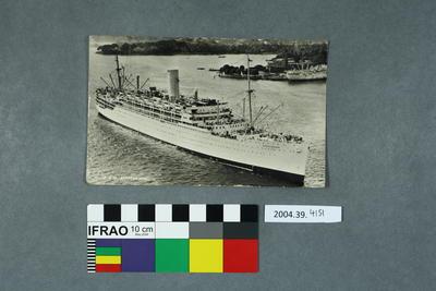 Postcard: F. & O. Stratheden