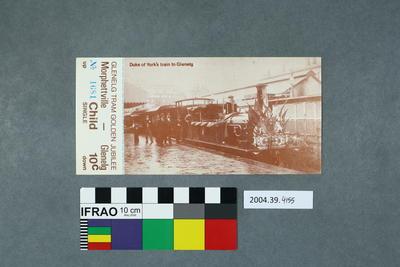 Postcard: Duke of York's Train