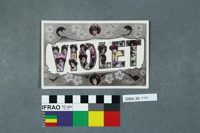 Postcard: Violet