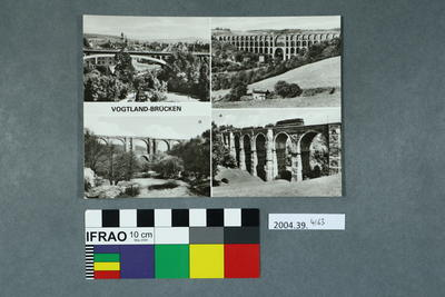 Postcard: Vogtland-Brücken