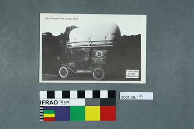 Postcard: Gas Propelled at Louth