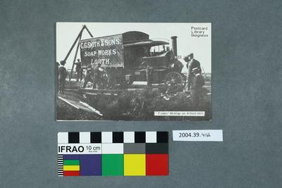 Postcard: Foden Mishap