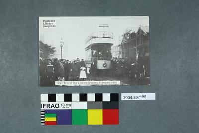 Postcard: Trial Trip