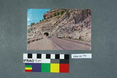 Postcard of Tunnel Vista