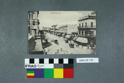 Postcard: Calle 18 de Julio