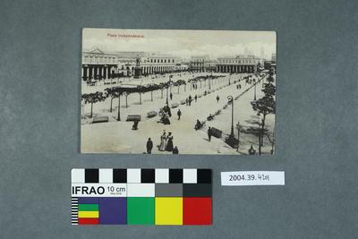 Postcard: Plaza Independencia